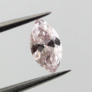 Fancy Brownish Pink, 0.29 carat