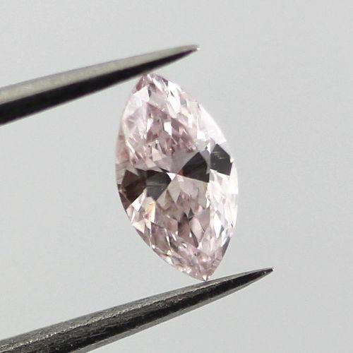 Fancy Brownish Pink Diamond, Marquise, 0.29 carat