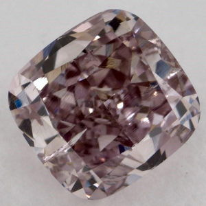 Fancy Brownish Purple Pink, 0.61 carat, I1