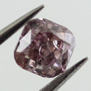 Fancy Brownish Purple Pink, 0.35 carat