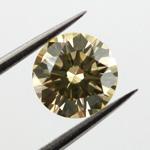 Fancy Brownish Yellow, 0.82 carat, SI1