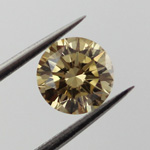 Fancy Brownish Yellow, 0.70 carat, SI1