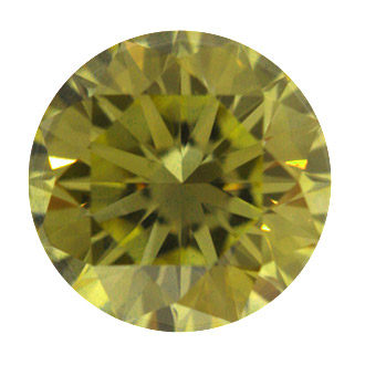 Fancy Brownish Yellow, 0.73 carat, VS1