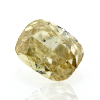 Fancy Brownish Yellow, 0.78 carat, SI2
