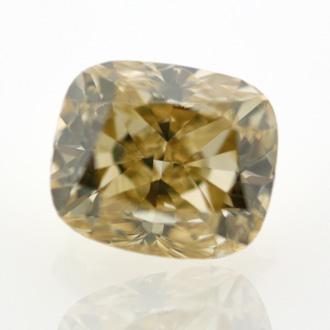 Fancy Brownish Yellow, 0.73 carat, SI2