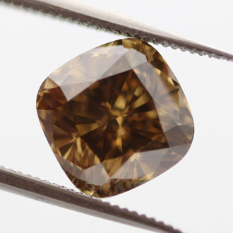 Dark Brown Greenish Yellow, 2.51ct, SI1