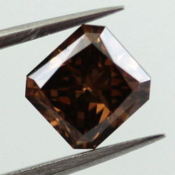 Fancy Dark Brown, 1.08 carat, VS2