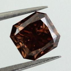 Fancy Dark Brown, 1.18 carat, VVS2