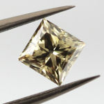 Fancy Dark Gray Greenish Yellow, 1.11 carat, SI1