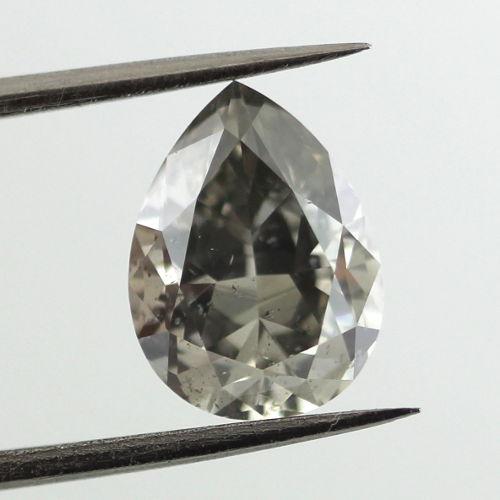 Gray Diamond Fancy Dark Gray 2 01 Carat Id 4008