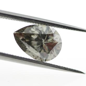 Fancy Dark Greenish Gray, 1.84 carat, SI1
