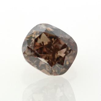 Fancy Dark Orange Brown, 0.84 carat