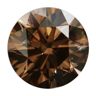 coppery color doody yellow jewelry deep diamond loose b fancy round brilliant brown index