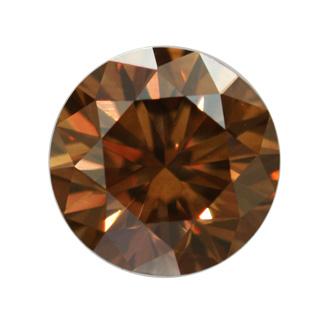 Peach Colored Diamond