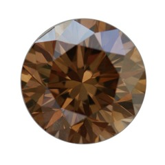 Fancy Dark Yellowish Brown, 0.92ct, VS2