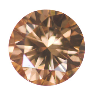 Fancy Dark Yellowish Brown Diamond, Round, 1.70 carat, SI1