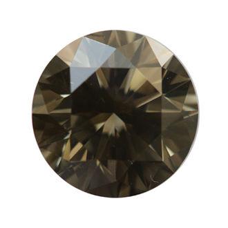 Fancy Dark greenish Gray, 1.50 carat, VS2