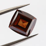 Fancy Deep Brown Orange, 2.12 carat
