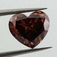 Fancy Deep Brown Pink, 0.91 carat