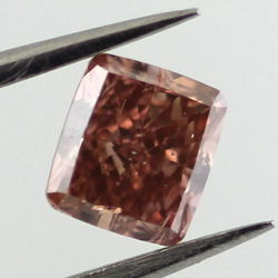 Fancy Deep Brown Pink, 0.50 carat, SI1