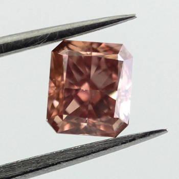 Deep Brownish Orangy Pink, 0.70ct, VS1