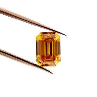 Deep Brownish Orangy Yellow, 1.05ct, SI1