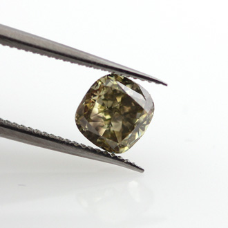 Fancy Deep Brownish Orangy Yellow, 0.71ct