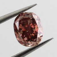 GIA Oval Fancy Deep Brownish Pink Diamond, 0.26 carat