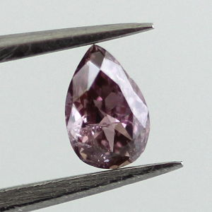 Fancy Deep Brownish Purple Pink, 0.16ct