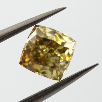 Fancy Deep Brownish Yellow, 1.23ct, VS1