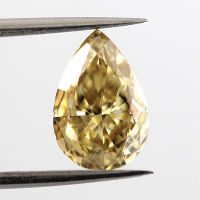Fancy Deep Brownish Yellow, 1.60ct, VVS1