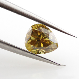 Fancy Deep Brownish Yellow, 0.59 carat