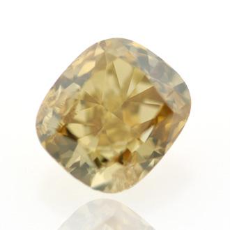 Fancy Deep Brownish Yellow, 0.62 carat