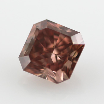 Fancy Deep Orangy Pink, 0.67 carat, VS1