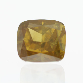 Fancy Deep Orangy Yellow, 1.54 carat