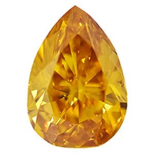Fancy Deep Yellow Orange, 1.50 carat, SI1