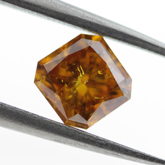 Fancy Deep Yellow Orange, 1.08 carat