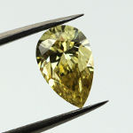 Fancy Deep Yellow, 1.50 carat, VS1