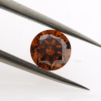 Fancy Deep Yellowish Orange, 1.00 carat