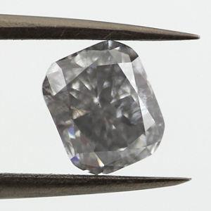 Fancy Gray Blue, 1.42 carat