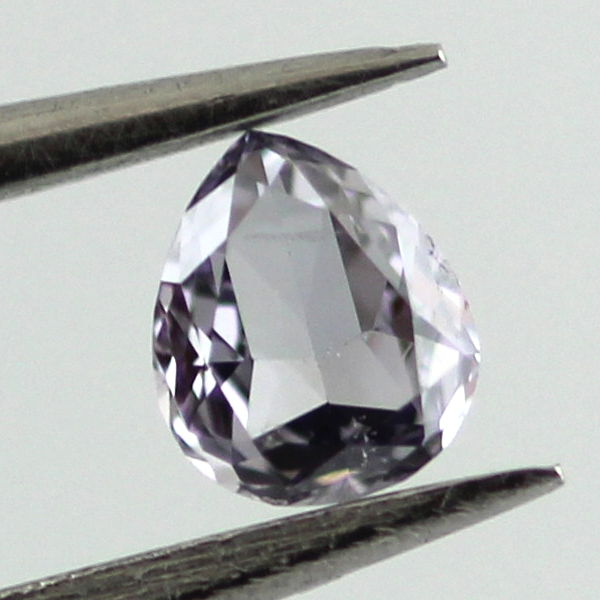 Fancy Gray Blue Diamond, Pear, 0.09 carat