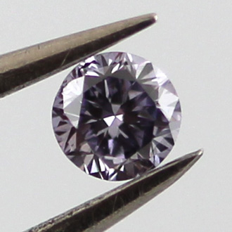 Fancy Gray Violet, 0.07 carat