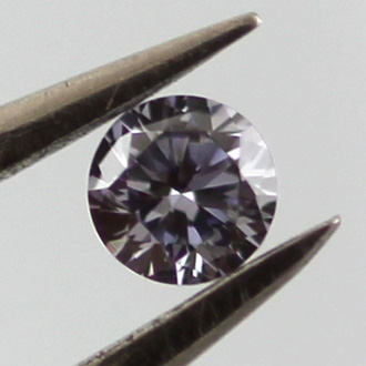 Fancy Gray Violet, 0.05 carat