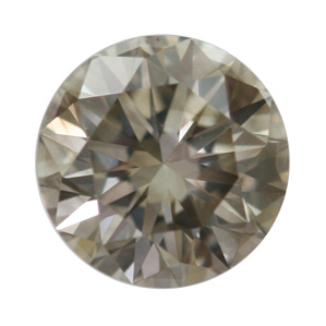 Fancy Gray Diamond, Round, 0.71 carat, SI1