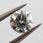 Fancy Gray, 0.38 carat, SI2