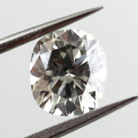 Fancy Gray Diamond, Cushion