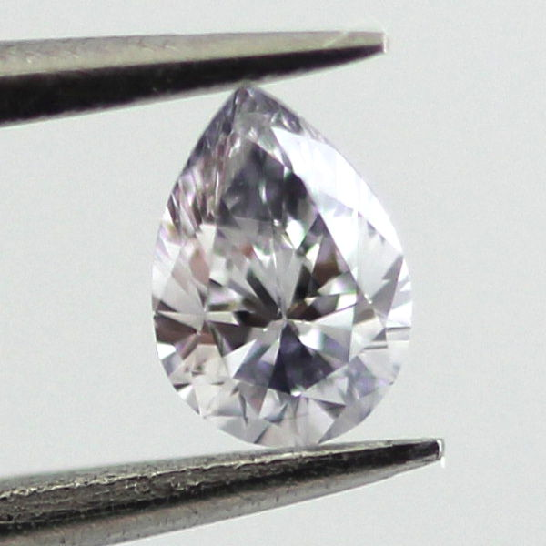 Fancy Grayish Blue Diamond, Pear, 0.11 carat