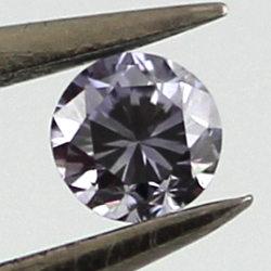 Fancy Grayish Violet, 0.06 carat