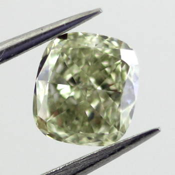 Grayish Yellowish Green Chameleon, 0.52ct, VS2