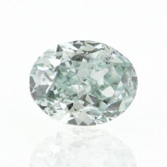 Fancy Green, 0.18 carat, SI2
